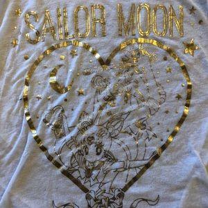 Hot Topic Tops - Sailor Moon Hot Topic long sleeve baseball T Shirt
